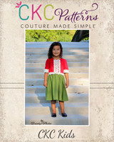 Leighton's Dress Size 2T to 14 Kids PDF Pattern