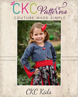 Bertie's Bolero Sizes NB to 14 Kids PDF Pattern