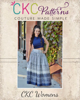 Faelynn's Floor Length Skirt Sizes XXS to 4X Adults PDF Pattern