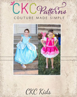 Wilhelmina's Transformation Dress Sizes 2T to 14 Kids PDF Pattern