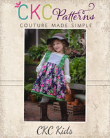 Rosemary's Flutter Bodice Dress and Tunic Sizes NB to 14 Kids PDF Pattern