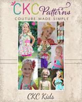 Megan's Accessory Pack Sizes 6/12m to 8 Kids PDF Pattern