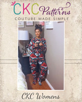 Colbie's Cozy Footed Jammies Sizes XXS to 4X Adult PDF Pattern