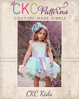 Berlin's Lace Dress Sizes NB to 14 Kids and Dolls PDF Pattern