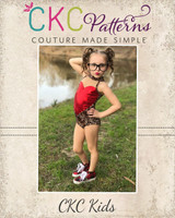 Zendaya's Sweetheart Leotard Sizes 2T to 14 Kids PDF Pattern