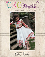 Starlyn's Ruffled Dress Sizes NB to 14 Kids PDF Pattern