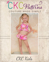 Naomi's Ruffle Bikini Sizes 2T to 15/16 Kids and Dolls PDF Pattern