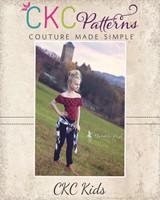 Yolanda's Everyday Bodysuit Sizes NB to 14 Kids PDF Pattern
