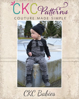Mason's Raglan Harem Romper Sizes NB to 6 Kids PDF Pattern