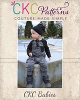 Mason's Raglan Harem Romper Sizes NB to 6 Kids PDF Pattern