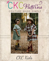 Mariposa's Winged Top and Dress Sizes 2T to 14 Kids PDF Pattern