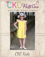 Sue Ellen's Smocked Bishop Top, Dress, and Romper Sizes NB to 14 Kids PDF Pattern