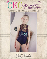 Quida's Whimsical Critter Leotard Sizes 2T to 14 Kids PDF Pattern