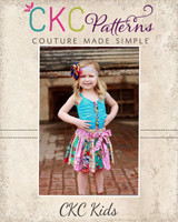 Darby's Knit Gathered Tank Sizes 2T to 14 Kids PDF Pattern