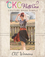 Josephina's Hanky Hem Skirt Sizes XXS to 4X Adults PDF Pattern