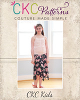 Josephina's Hanky Hem Skirt Sizes 2T to 14 Kids PDF Pattern