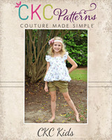 Brooke's Bubble Shorts Sizes NB to 14 Kids PDF Pattern