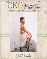 River's Recital Skirt Sizes 2T to 14 Kids PDF Pattern