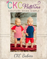 Carter's Baby Swim Set Sizes NB to 4T Kids PDF Pattern