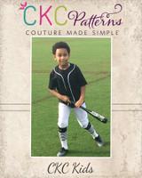 Upton's Classic Baseball Top Sizes 2T to 14 Kids PDF Pattern