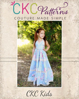 Briar's Beautiful Top, Dress, Maxi and Romper Sizes NB to 14 Kids and Dolls PDF Pattern