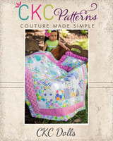 Alexia's Star Doll  Quilt Top PDF Pattern