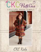 Carlyn's Fancy Flair Coat Sizes 2T to 14 Kids PDF Pattern