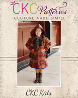 Carlyn's Fancy Flair Coat Sizes 2T to 14 Kids PDF Pattern