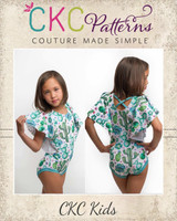 Glady's Graceful Leotard Sizes 2T to 14 Kids PDF Pattern