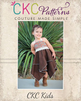 Effy's Tunic, Dress, and Romper Sizes NB to 14 Kids and Dolls PDF Pattern