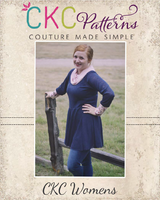 Kamry's Cowl Neck Dress and Top Sizes XXS to 4X Adults PDF Pattern