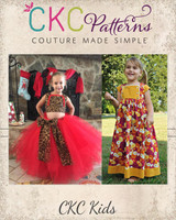 Amabella's Crop Top, Dress and Maxi Sizes 2T to 14 Kids PDF Pattern