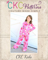 Orion's Pajama Set Sizes 2T to 14 Kids and Dolls PDF Pattern
