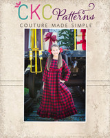 Estella's Flannel Nightgown Sizes 2T to 14 Kids PDF Pattern