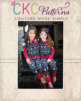 Aries' Two-Piece Knit Pajamas Sizes 2T to 14 Kids PDF Pattern