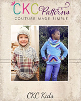 Zita's Color Block Raglan Sizes 2T to 14 Kids PDF Pattern