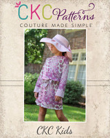 Darla's Drop Waist Dress and Tunic Sizes 2T to 14 Kids PDF Pattern