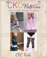 Lydia's Leg Warmers Sizes NB to 14 Kids PDF Pattern