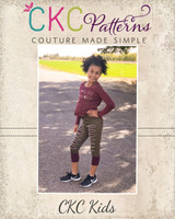 Fergie's Funky Joggers Sizes 2T to 14 Kids PDF Pattern