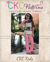 Venus' Lounge Pants Sizes 2T to 14 Kids PDF Pattern