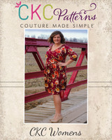 Shannon's Faux Wrap Top, Dress, and Maxi Sizes XXS to 4X Adults PDF Pattern