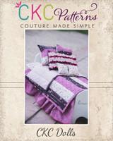Goldilocks' Perfect Doll Bedding Set PDF Pattern