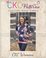 Shelley's Nursing Sweatshirt Sizes XXS to 4X Adults PDF Pattern