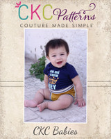Dallin's Shorties Sizes NB to 5T Kids PDF Pattern