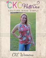 Kaitlyn's Tank Top and Dress Sizes XXS to 4X Adults PDF Pattern