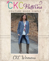 Calliope's Comfy Cardi Sizes XXS to 3X Adults PDF Pattern