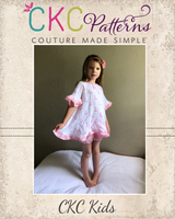 Lantana's Pajama Set Sizes 2T to 14 Kids PDF Pattern