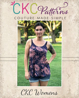 Kendal's Tank Top Sizes XXS to 4X Adults PDF Pattern