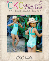 Darleen's Western Dancewear Sizes 2T to 14 Kids PDF Pattern