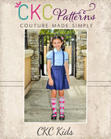 Pauline's Pleated Skirt Sizes 6m to 14 Kids PDF Pattern